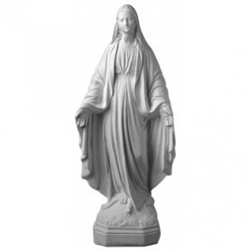 stampo madonna in 3d cm 45